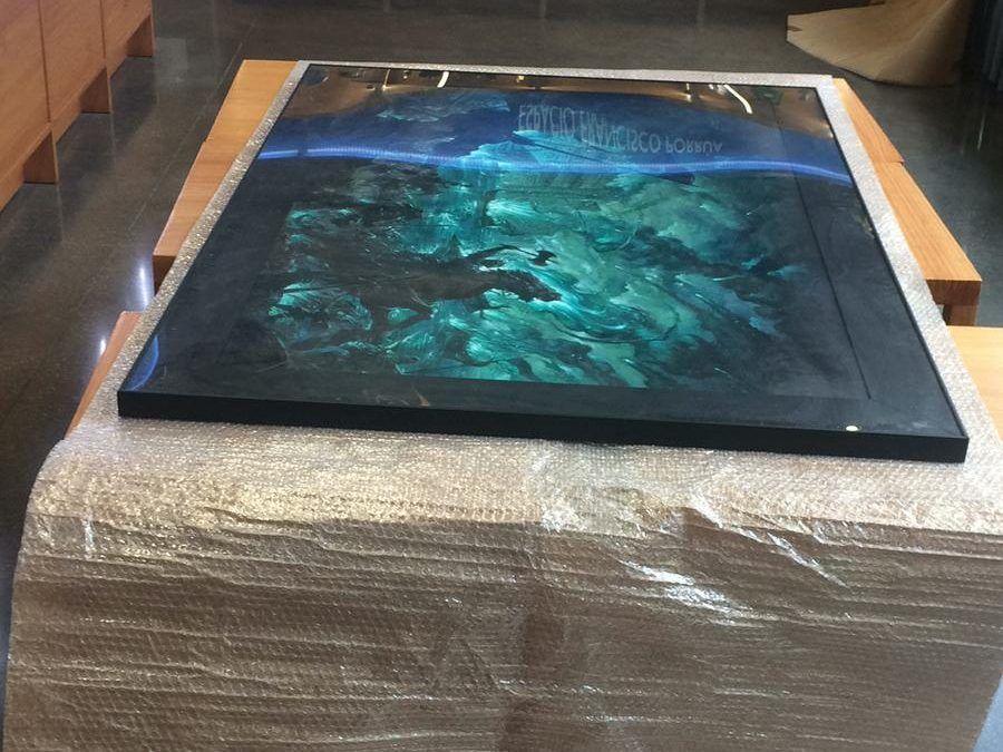 El arte de Corominas ya viaja hacia Tenerife