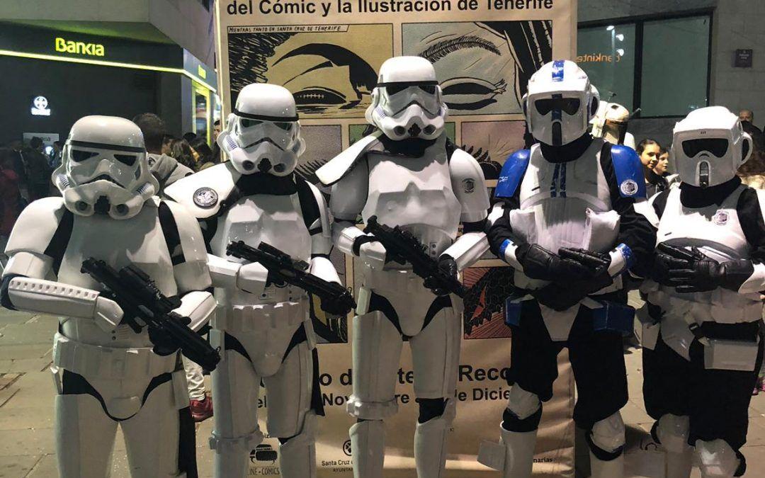 Stormtrooper Santa Cruz, protectores del Salón